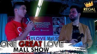 ONE GREAT LOVE MALL SHOW   JC shares the most important lesson he learned from One Great Love