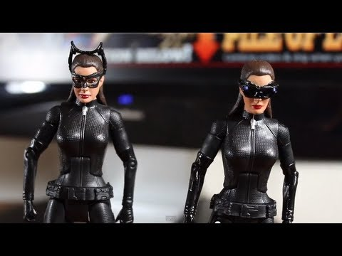 The Dark Knight Rises: Movie Masters Catwoman (Goggles Down) - SSJ Reviews 401