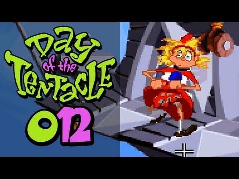 Let's Retro Day of the Tentacle #012 [Deutsch] [HD] - Sexy Tentakel Görl