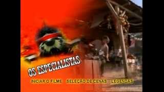 DVD Os Especialistas - The Bad Pack 1997 SUPER RARO