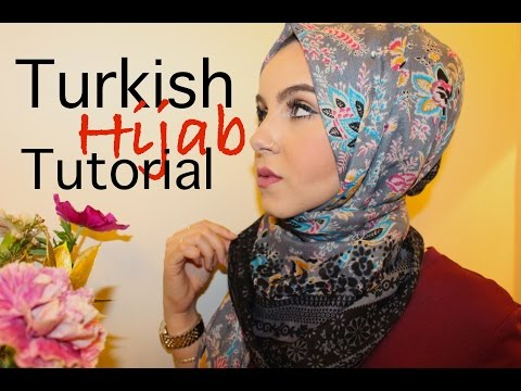 Turkish Hijab Tutorial♡ (Quickest)! | Amina Chebbi - YouTube amina chebbi