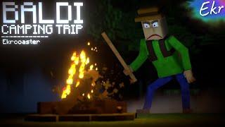 BALDI CAMPING!   Baldi's Basics Minecraft Animation (Random Encounters)