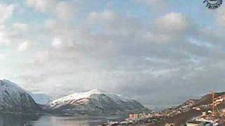 Tromsø (Norway) 2 weeks time-lapse video