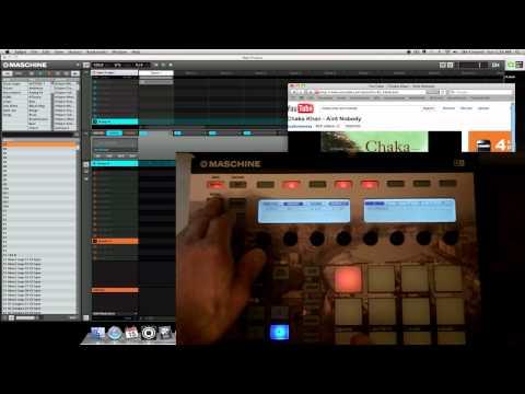 KDilla Maschine Tutorial: Internal Sampling with Interface