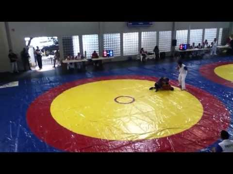 Sport Sambo 52kg semifinal Panamerican Championship Colombia vs Mexico