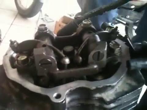 Motor Honda/ CG 125 Funcionando aberto - Tampa de