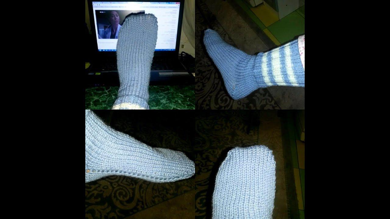 Супер быстрые носки - Вязание - Страна Мам 79