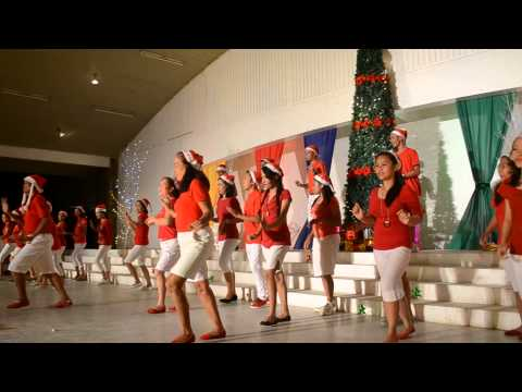 Villaflores College Teachers Christmas Presentation 2014
