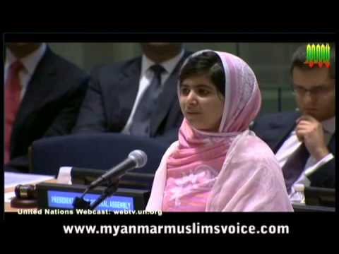 Malala Yousafzai Speech at the UN (16th Birthday)