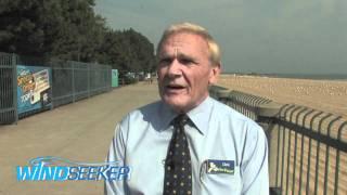 Dick Kinzel, Cedar Fair CEO, comments on WindSeeker at Cedar Point