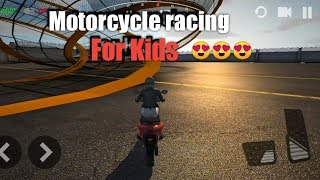 Incredible Motor Bike 3D Racing Games video for Kids#KIDS games#Motor Bike Games for kids