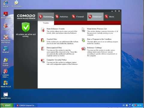 Norton Internet Security 2011 vs Comodo Internet Security (Part 4)