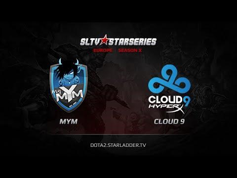 MYM vs Cloud9, SLTV Europe Season X, Day 13, Game 1