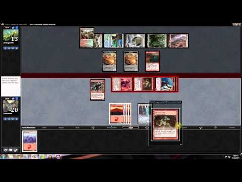 Magic Stronghold: Standard Mono Red Aggro - Match 1