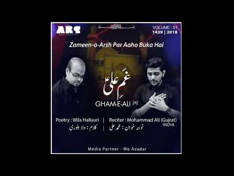 Promo Zameeno Arsh pr By MOHAMMAD ALI Vol.1 Nohay 1439/2018
