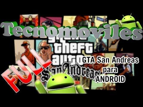 GTA San Andreas para Android - El Mejor Juego del 2013 para Android [APK] [Full] [Funcionando]
