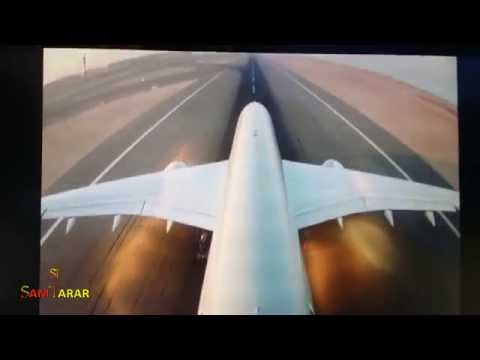 Qatar Airways | Takeoff And Landing From Plane's Cameras | Doha, Qatar To Riyadh, Saudi Arabia