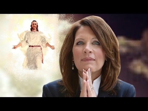 Michele Bachmann Psyched For Middle East Apocalypse
