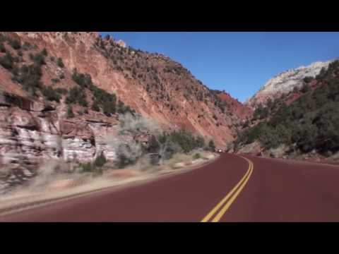Zion National Park, Utah at 4x speed