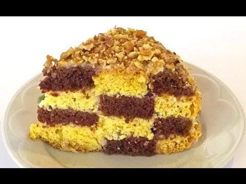 видео-рецепты по приготовлению тортов