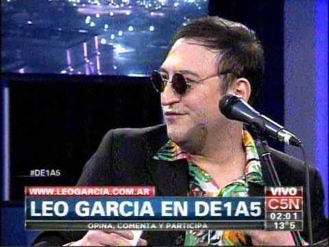 C5N - MUSICA EN VIVO: LEO GARCIA EN DE1A5