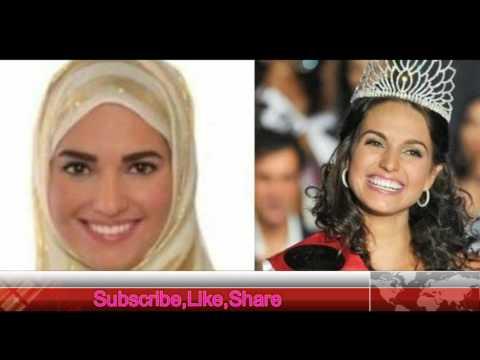 Former Czech Democratic Republic Beauty Queen Converts to Islam