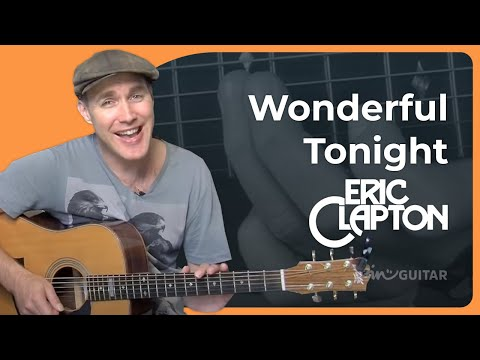 How To Play Wonderful Tonight By Eric Clapton (Beginner Song Guitar Lesson BS-906)