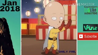 Funniest ONE PUNCH MAN... Vines/Compilations 2018