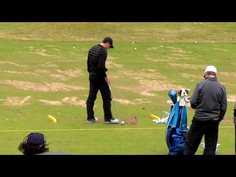 Rory Mcilroy | The Open 2016 | RARE Practice Footage |