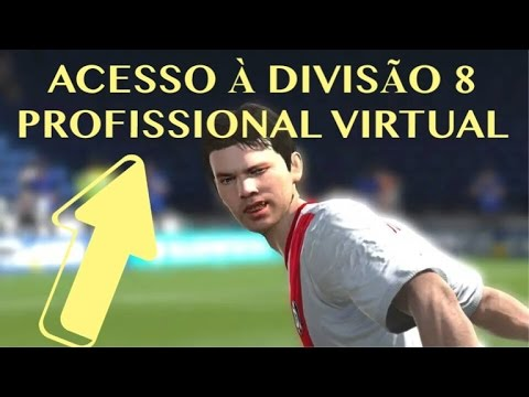 Alguns gols da conquista do acesso à divisão 8 Profissional Virtual