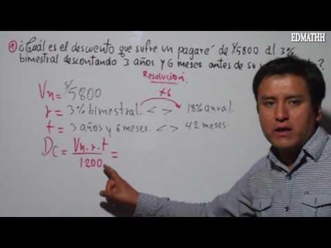 Regla de descuento, ejercicios resueltos, aritmética, arithmetic