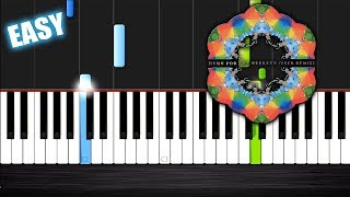 Download Lagu Coldplay - Hymn For The Weekend - EASY Piano Tutorial by PlutaX Gratis STAFABAND