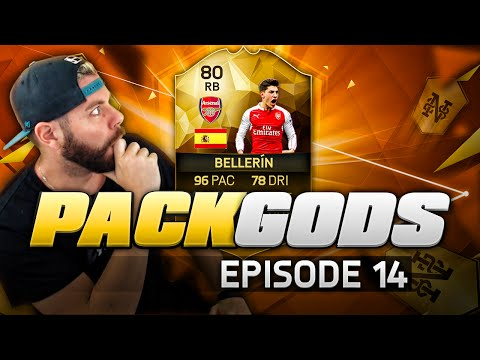 OMG INFORM 80 RATED BELLERIN!!!!!! - PACK GODS #14 - FIFA 16 Ultimate Team