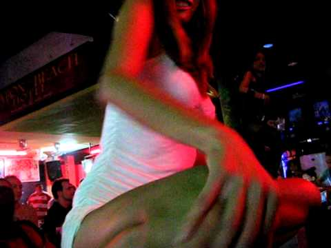 Thailand Phuket dancing girl short  mini skirt