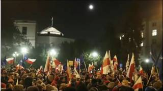 Poland Parliament Protests