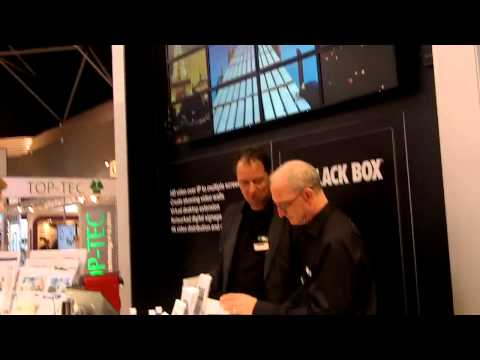 ISE 2015: Black Box Details MediaCento IPX Transmitter and Receiver Solution