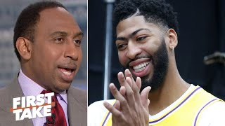 Stephen A. laughs away the idea of Anthony Davis to the Bulls | First Take