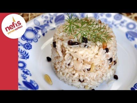 Fıstıklı Kuş Üzümlü Pilav Tarifi   Nefis Yemek Tarifleri