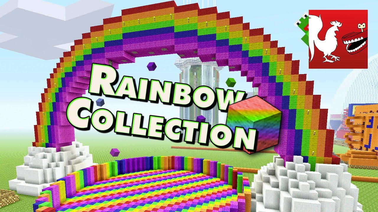 Things to do in Minecraft - Rainbow Collection