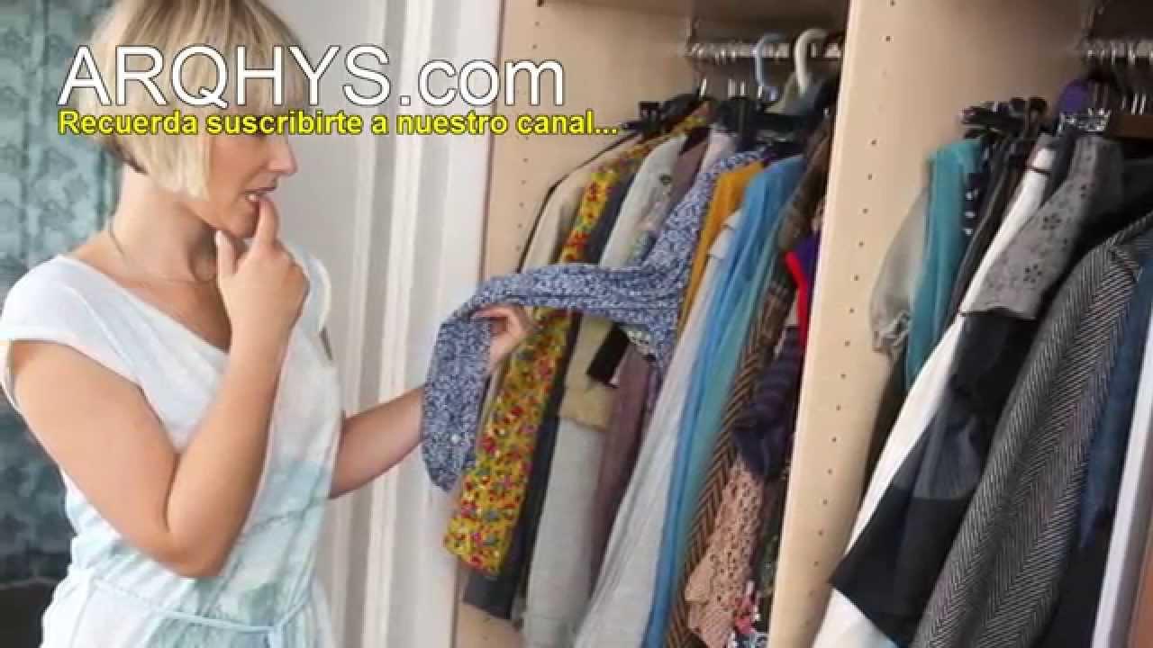 C mo organizar tu closet 5 consejos para ordenar tu - Como ordenar un armario pequeno ...