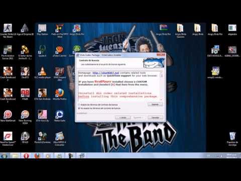 Como hacer que el Windows Media Player reproduzca cualquier formato de video