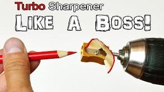Turbo Pencil Sharpener - Life Hack