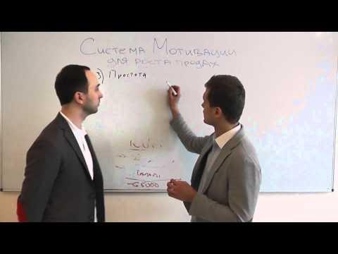 Система мотивации для роста продаж