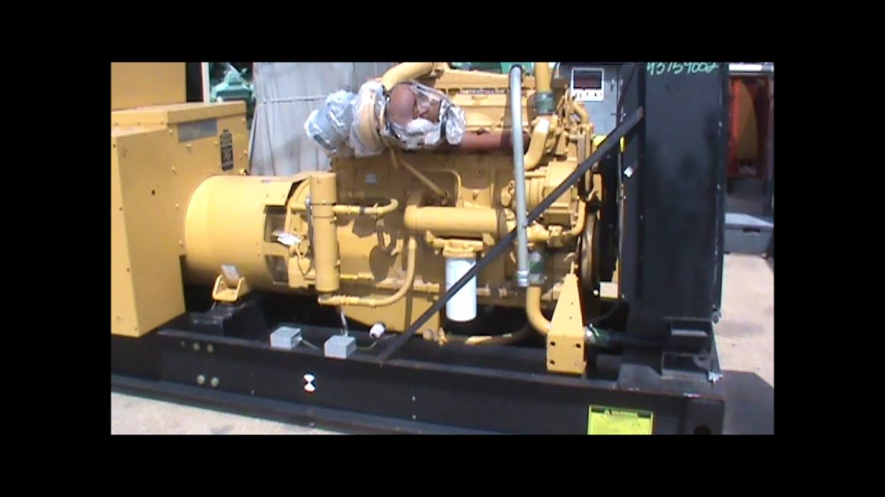 Caterpillar 3406 Dita 400kw 208v Open Diesel Generator