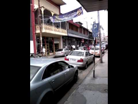 Henry street , Port of spain, downtown