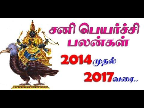 Sani Peyarchi Palangal 2014 To 2017 Meenam video