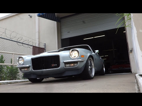 1970 1/2 Chevrolet Camaro Z/28 muscle car