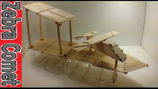 How To Make A Toy Ship Boat