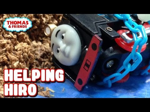 "Thomas and friends Helping Hiro トーマス プラレール ガチャガチャ ""ヒロをすくえ!"""