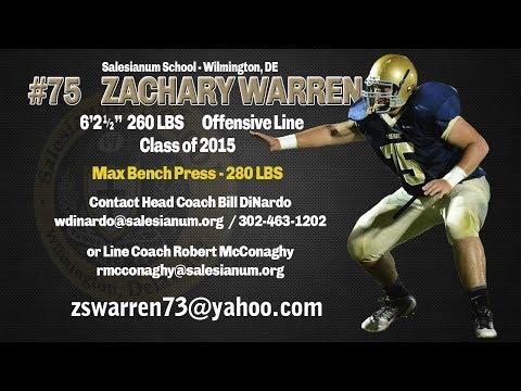 Zach Warren - OL - Salesianum School